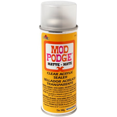 Plaid Mod Podge Clear Acrylic Sealer, Matte