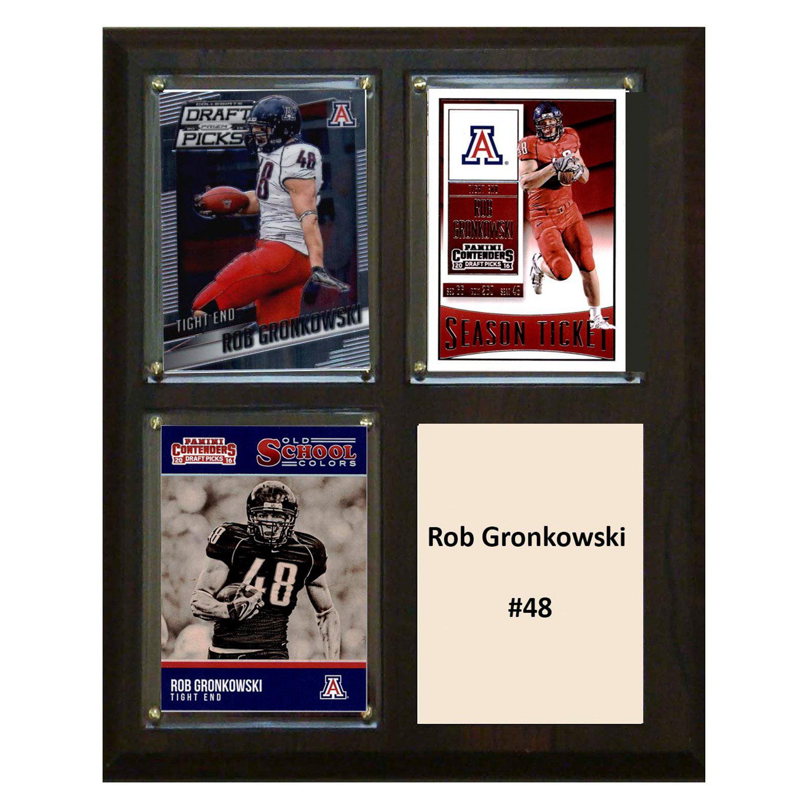 "C & I Collectables NCAA 8"" x 10"" Rob Gronkowski Arizona Wildcats 3 Card Plaque"