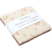 "Collections Compassion Charm Pack By Howard Marcus for Moda; 42 - 5"" Precut Fabric Quilt Squares"