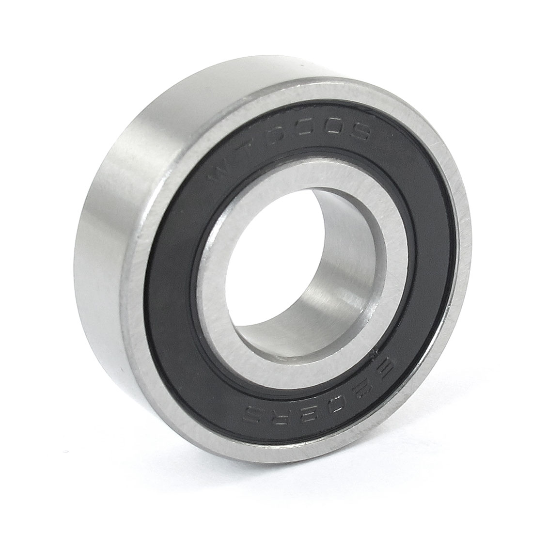 35mm x 15mm x 11mm Carbon Steel 6202RS Shielded Deep Groove Ball Bearing Black