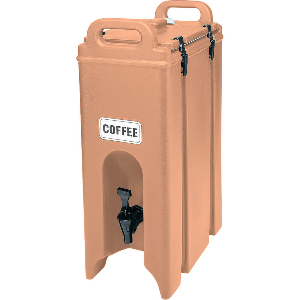 Cambro 4.75 Gal. Insulated Beverage Dispenser, Coffee Beige, 500LCD-157