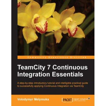 TeamCity 7 Continuous Integration Essentials -