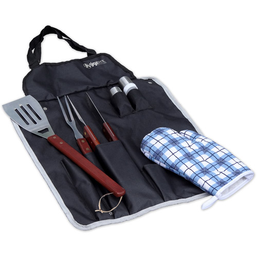 GigaTent BBQ Tool Set and Apron