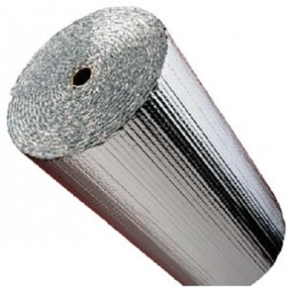 R-8 HVAC Duct Wrap Insulation Reflective 2 Sided Foam Core 4/' x 20/' 80 Sq Ft