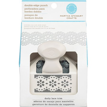 Martha Stewart Crafts Deep Edge Punch, Doily Lace