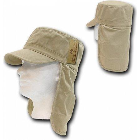 RapDom Foreign Legion Mens Cadet Cap [Khaki - L/XL]