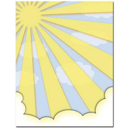 Sun Shiny Day Letterhead Printer Paper, 25 Sheets - Paper Sun