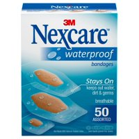 Nexcare Waterproof Bandages, 50 ct. Assorted
