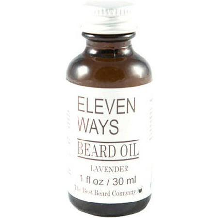 The Best Beard Company Eleven Ways Lavender Beard Oil, 1 fl (Best Way To Shave Ass)