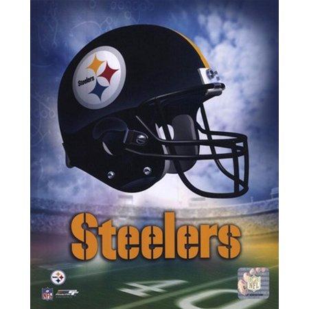 Pittsburgh Steelers Helmet Logo Sports Photo