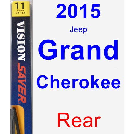 2015 Jeep Grand Cherokee Rear Wiper Blade - Rear