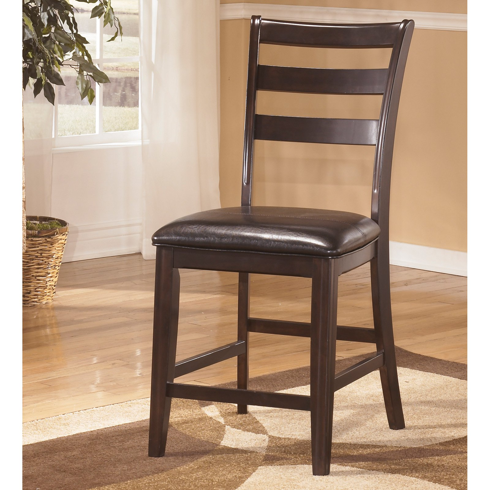 Signature Design by Ashley Ridgley Counter Height Chairs - Set of 2