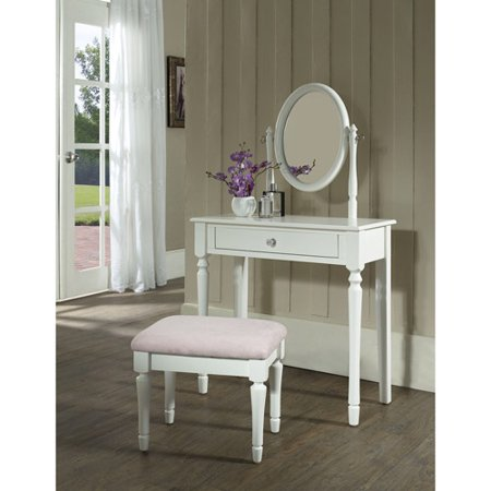 Princess Bedroom Vanity Set with Mirror and Bench  White. Princess Bedroom Vanity Set with Mirror and Bench  White   Walmart com