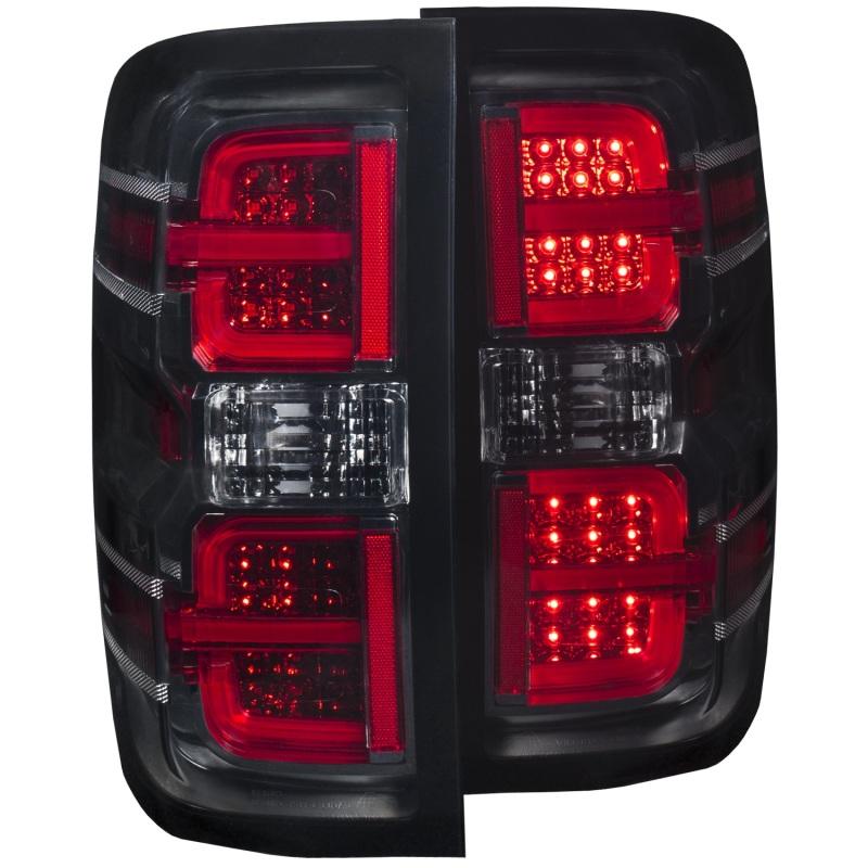 ANZO 2014-2016 Chevrolet Silverado LED Taillights Smoke
