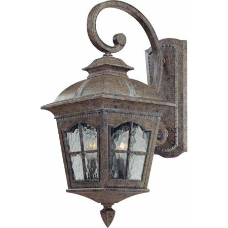 Volume Lighting V8271 Leeds 2 Light 21 5 Height Outdoor Wall Sconce With Water