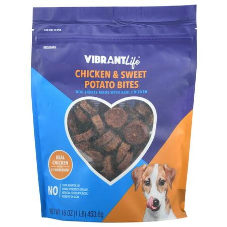 Vibrant Life Chicken & Sweet Potato Bites Dog Treats, 16 oz - Sweet Treats For Halloween