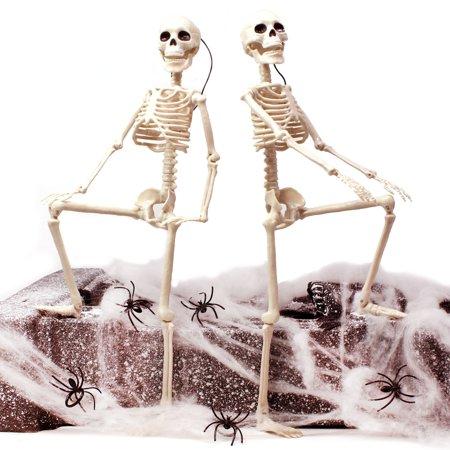 Posable Skeletons Halloween (JOYIN 2 Packs 16