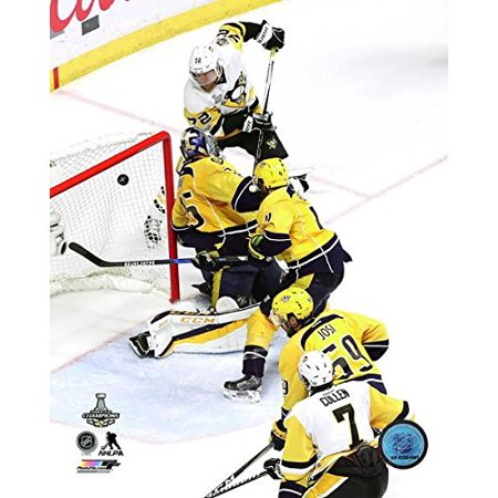 Pittsburgh Penguins Framed Photos - Patric Hornqvist Pittsburgh Penguins 2017 Stanley Cup Game Winning Goal Action Photo (Size: 8