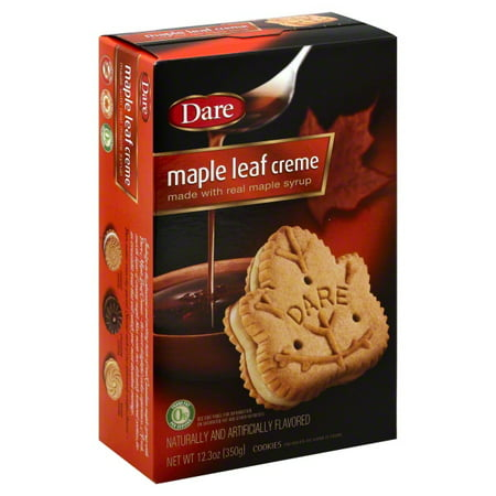 Dare Maple Leaf Creme Cookies, 12.3 Oz.