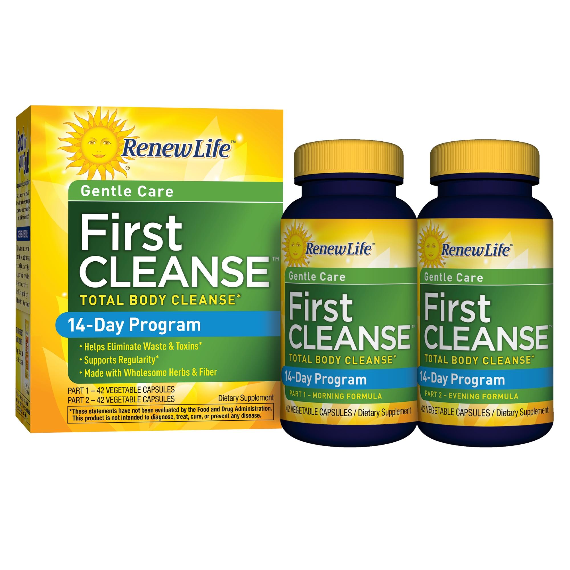 Renew Life First Cleanse - 14-Day Program, 2 Part Program