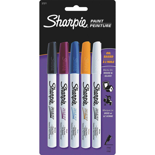 Sharpie Paint Markers, 5-Pack
