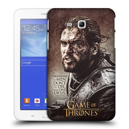 Amazing Official Hbo Game Of Thrones Character Quotes Hard Back Case For Samsung Tablets 1 Walmart Com Beutiful Home Inspiration Ommitmahrainfo