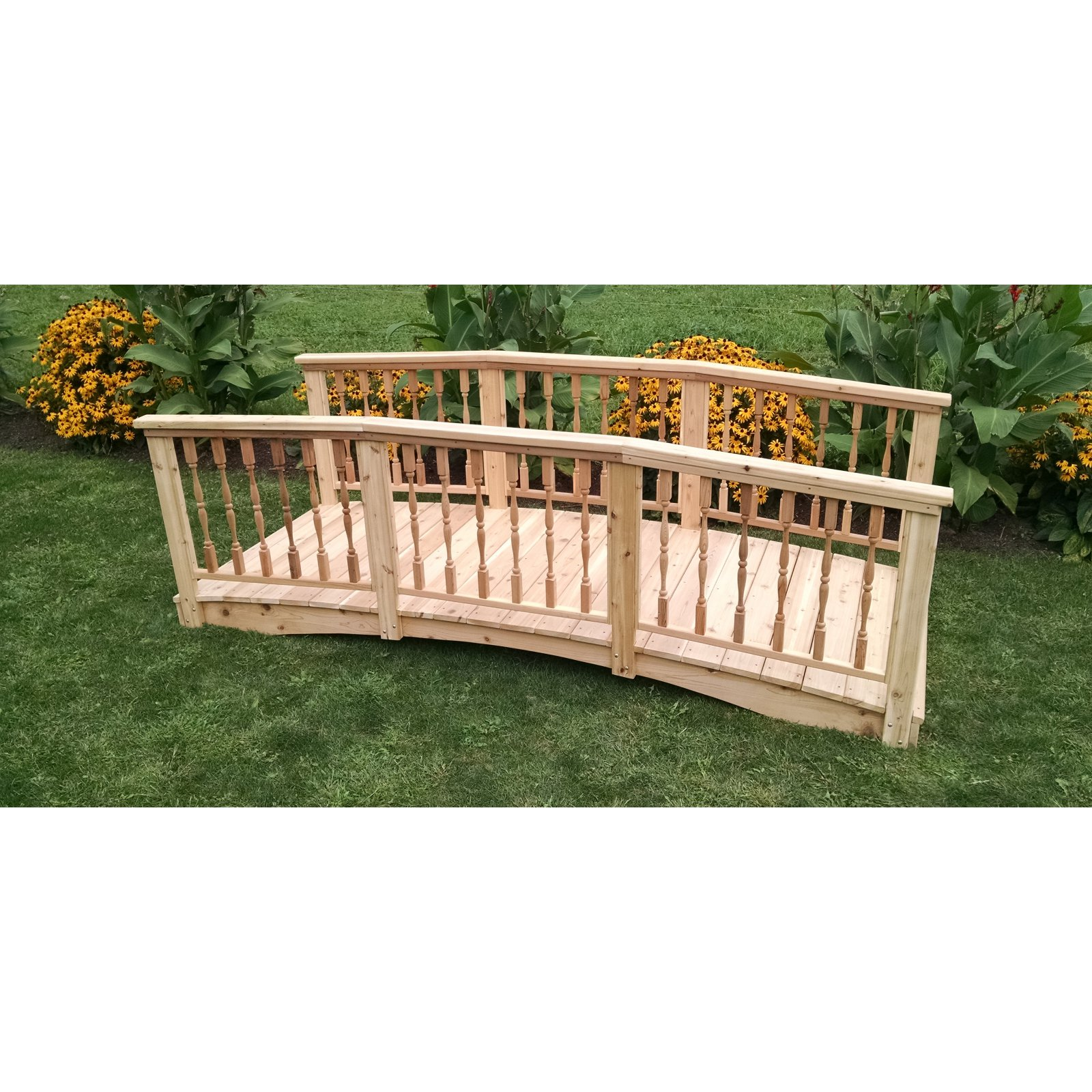 A and L Furniture Cedar Spindle Bridge