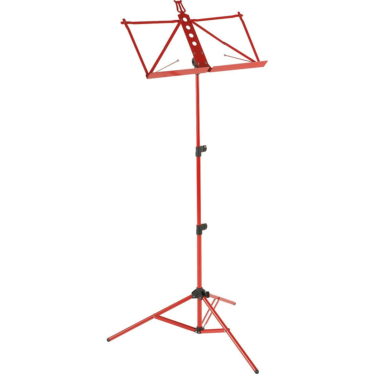 Strukture S3MS-RD Deluxe Aluminum Music Stand W adjustable by Strukture