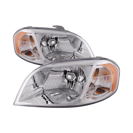 2007-2011 Chevy Aveo Sedan 4-Door Headlights Halogen Pair New GM2502273 & GM2503273