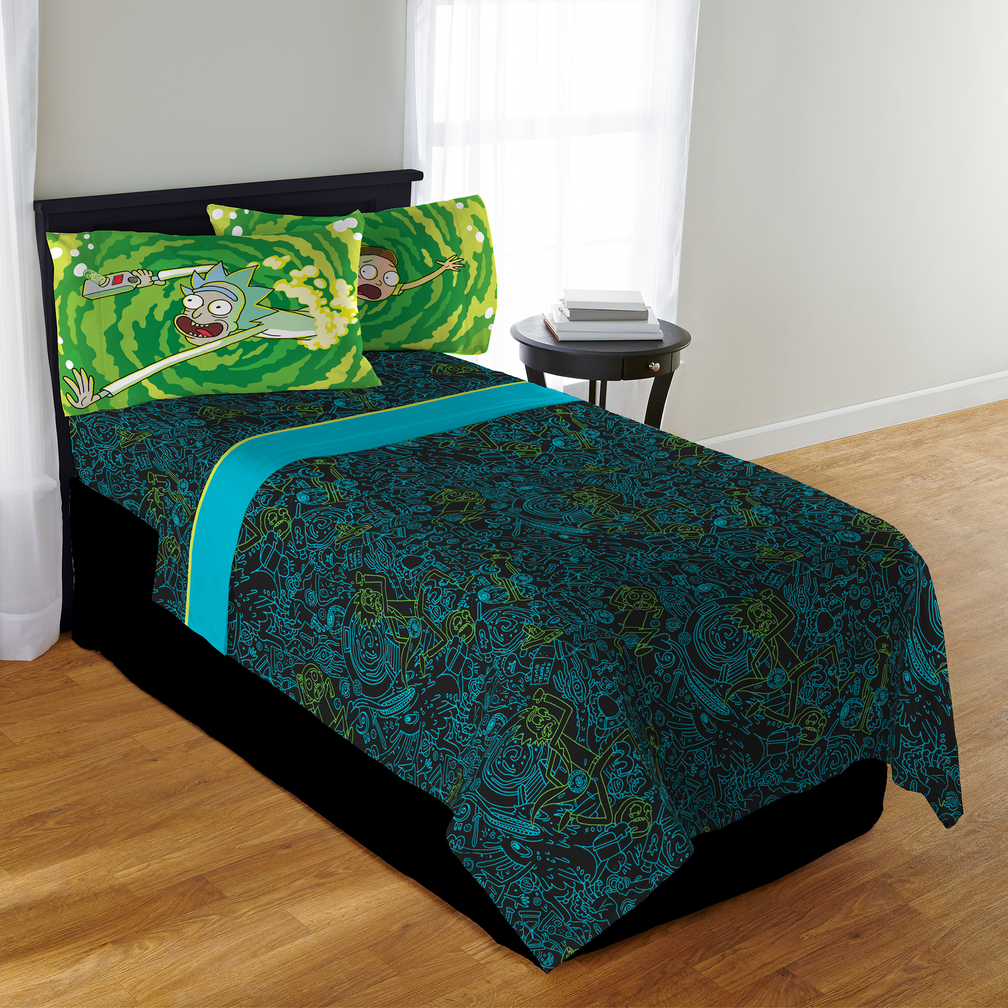 Rick & Morty Kids Bedding SHeet Set, Twin by Franco Manufacturing