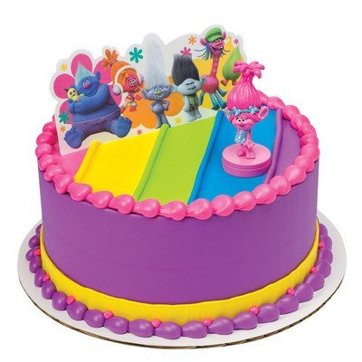 Trolls Poppy Show Me A Smile Cake Topper By DecoPac