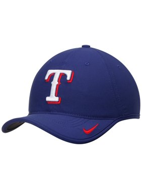 e4804d1c0c4ed Product Image Texas Rangers Nike Heritage 86 Aero Performance Adjustable  Hat - Royal - OSFA