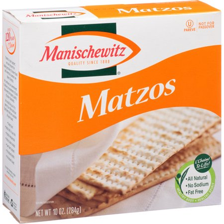 Manischewitz Unsalted Matzos, 10 oz, (Pack of 12)