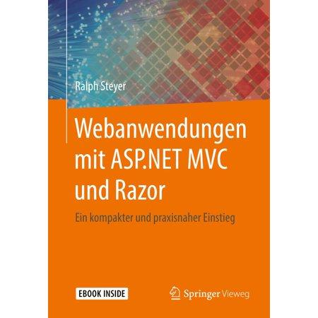 Webanwendungen mit ASP.NET MVC und Razor - eBook