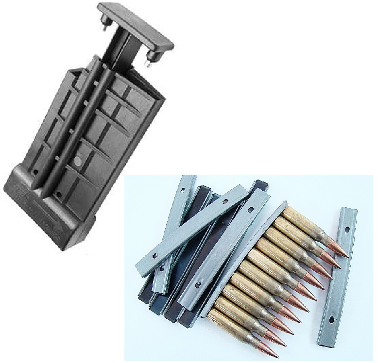 NCSTAR AFNLA .308 7.62X51 AR10 FN FAL M14 M1A H&K91 HK91 G3 CETME Mag Strip Loader + Ultimate Arms Gear 200 Pack of .308... by