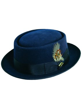 92630072b3a4c3 Product Image Stacy Adams Men's Wool Rocker Classic Hat NAVY L