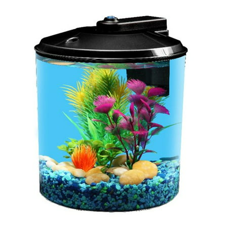 Aqua Culture 1.5-Gallon Aquarium Starter Kit with LED Lighting (Propane Tank 2 Gallon)