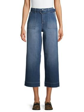 Time and Tru Wide Leg Welt Pocket Jeans