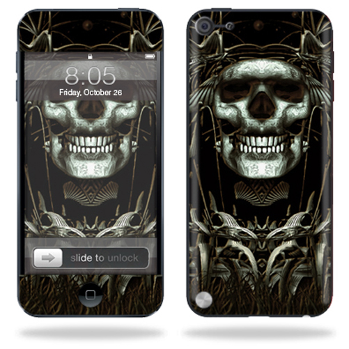 Mightyskins Protective Skin Decal Cover for Apple iPod Touch 5G (5th generation) MP3 Player wrap sticker skins Wicked