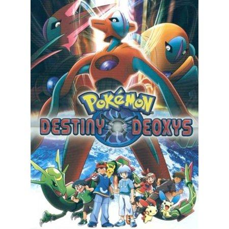 pokemon destiny deoxys movie poster 11 x 17 walmart com