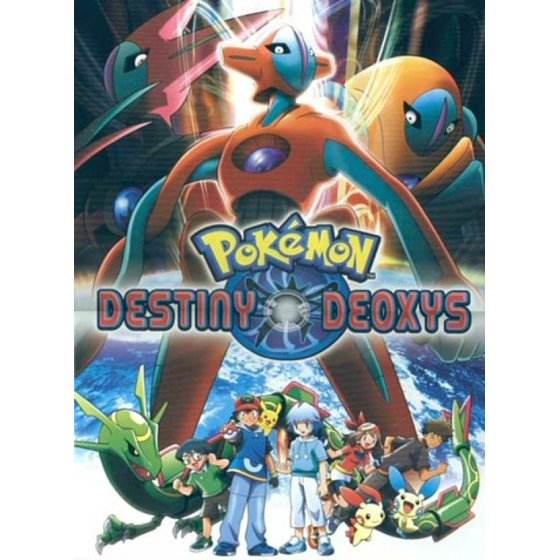 Pokemon Destiny Deoxys Movie Poster (11 x 17) - Walmart.com