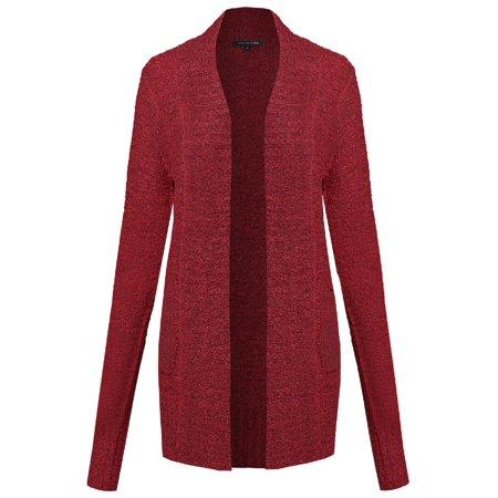 2c356c2ede0a FashionOutfit - FashionOutfit Women s Chunky Knit Long Cardigan ...