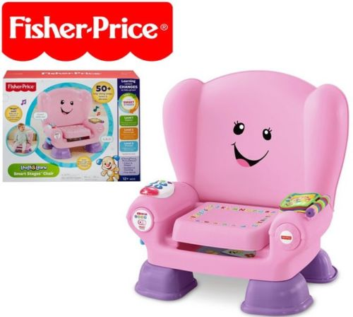 Fisher Price Laugh & Learn Smart Stages Chair, Includes Smart Stages technology, 50+... by Fisher-Price