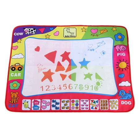 Child Writing Painting Mat Drawing Board, Reusable Kid Doodle Board Toy With Magic Pen, Develop Hand-eye Coordination Ability, Boy Girl Gift