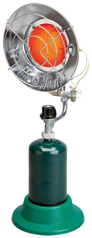 Mr. Heater 15,000 BTU Single Tank Top Radiant Heater for 1 lb Propane Tank