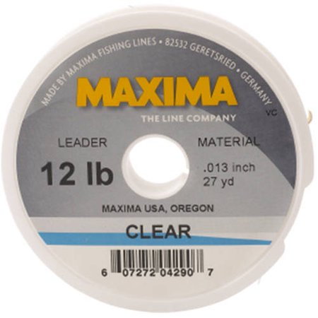 (Maxima Fishing Line Clear)