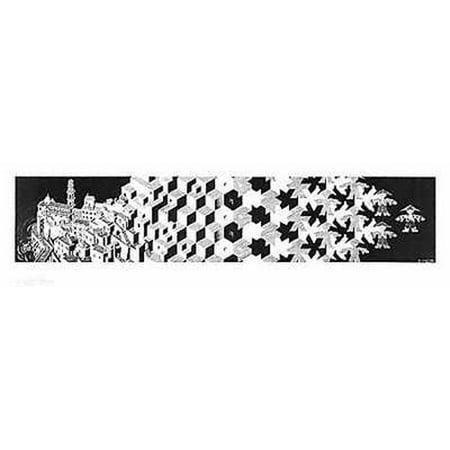 Metamorphosis I Poster Poster Print by MC Escher (Mc Escher Poster)