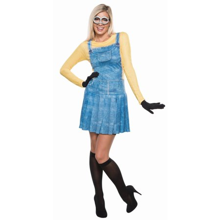 Minions Movie Women's Minion Women's Adult Halloween Costume - Movie Themes For Halloween Costumes