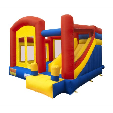 ALEKO Commercial Inflatable Playground Bounce House with Slide and Blower - 11.5 x 10.5 x 8
