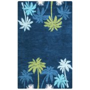 Rizzy Home Navy Rug In Wool 8'x10'